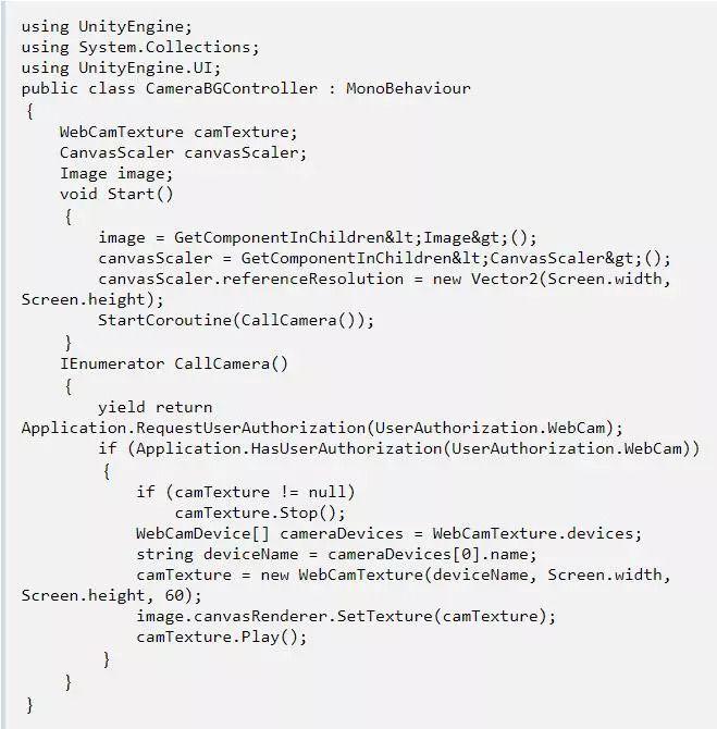 如何在Unity实现AR中的现实背景效果? - 第5张  | FreemanApp