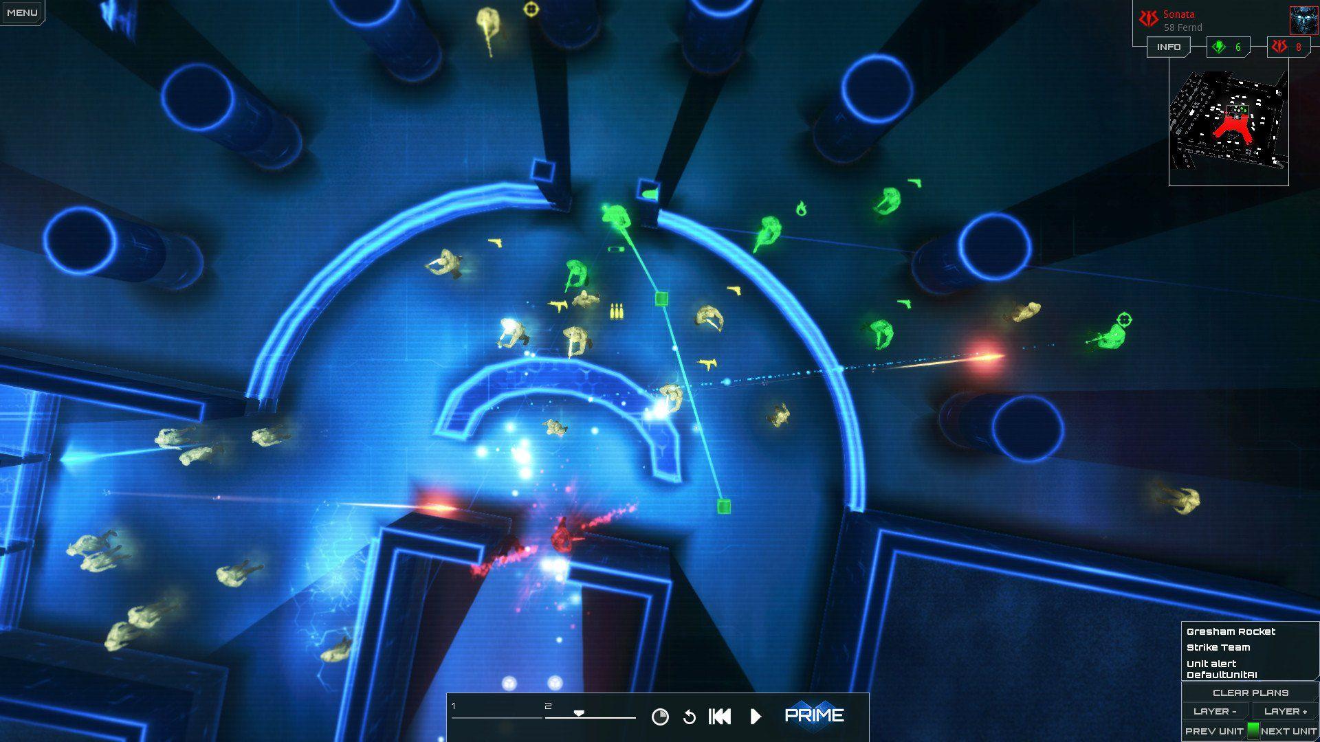《冰封触点2》:霓虹都市中的赛博朋克烧脑游戏