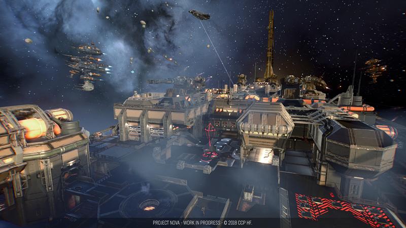 评《EVE》衍生射击游戏《新星计划》:志在凌云,但登天不易
