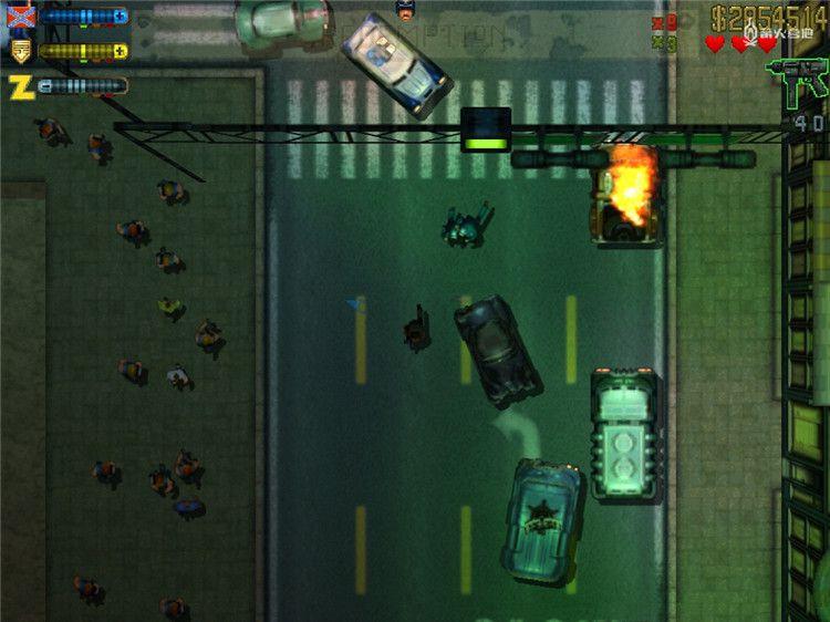 《美国逃亡者》让人梦回俯视视角 GTA 年代