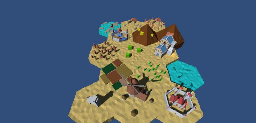 从零开始做一个SLG游戏(三):用unity绘制图形