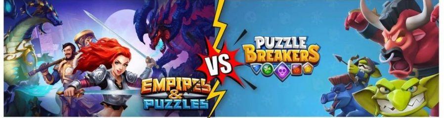 消除RPG王者《帝国与谜题》和来自Playrix的挑战者《Puzzle Breakers》